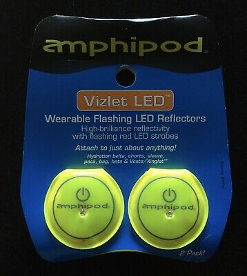 Amphipod Orange Vizlet Tri-LED Clip-On Reflector 436-3