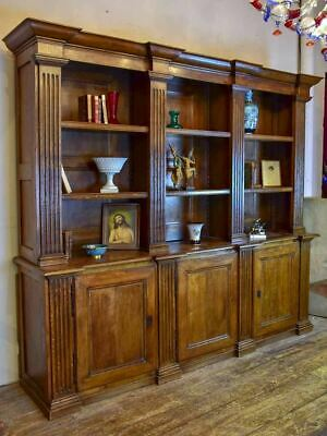 """19th Century French book case 86½"""""""