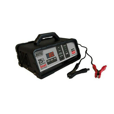 Battery Charger 25a 12v Elect Bench Smart MP74225 Maypole Top Quality Product