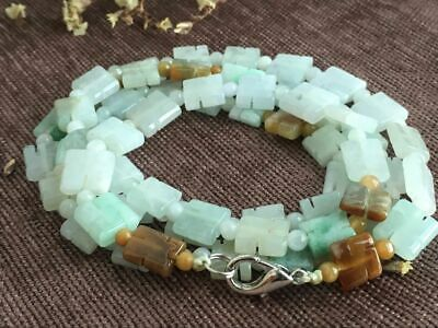 Certified Chinese-exquisite-hand-carved-jade-necklace-28inches 1648