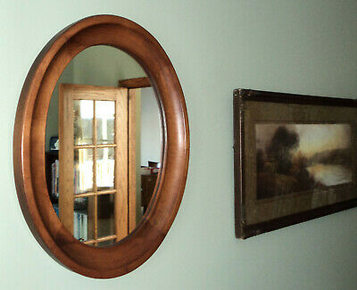 Tell City Chair Co. Oval Mirror No. 3134