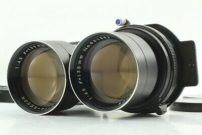 【EXC+++】 Mamiya Sekor 135mm f/4.5 Blue Dot for TLR C330 C220 C33 C22 from JAPAN