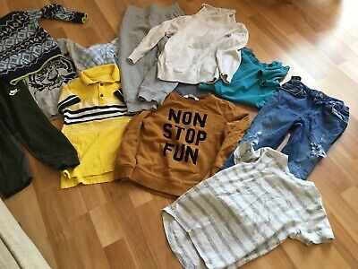 Boys Clothes Bundle Age 5 Years Next Nike Benetton H &M River Island 11 Items