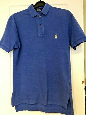 Ralph Lauren Men's/Boys Designer Blue Polo Shirt Size Xs