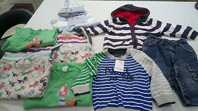 Boys Next Jumper BNWT 6 Sleepsuits Jeans Cardigan Hat Scarf Set 12 -18 Months