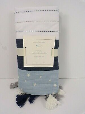 Pottery Barn Baby Max Star Patchwork Crib Skirt #6365