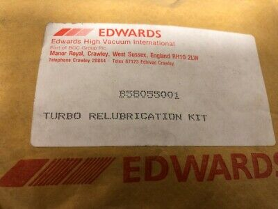 EDWARDS  Vacuum Pump SPARES TURBO RELUBRICATION KIT