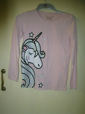Girls aged 12 to 13 years long sleeved pink T shirt top Primark