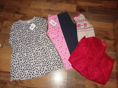 Girls Bundle, 5 years, leggings dress tunic... New with Tags *Read listing*