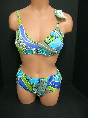 Vintage 50S 60S bullet bra swimsuit bathing suit NOS NWT SIZE 38 PIN UP M. WARDS