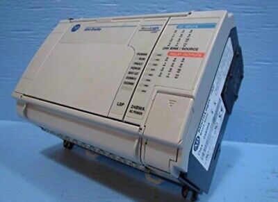 Allen-Bradley 1764-24BWA 39W 120VAC Power 12 Relay Inputs/Outputs Base Unit