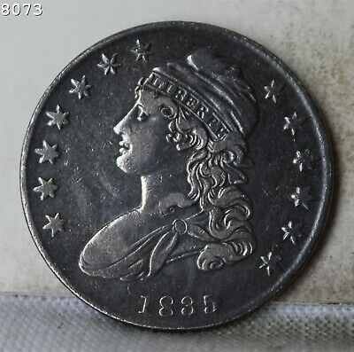 "1835 Capped Bust Half Dollar ""VF+"" *Free Shipping After First Item*"