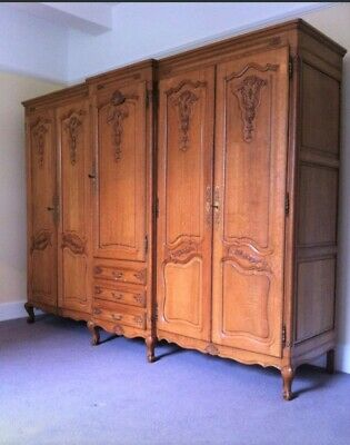 Large french Louis XV style French Wardrobe