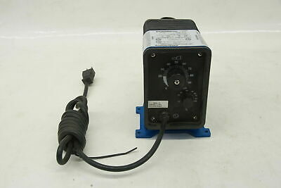 Pulsatron Pulsafeeder Chemical Metering Pump LE02SA-PTC1-XXX 12GPD 150 PSI