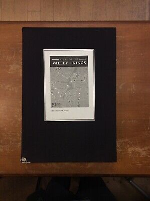 Atlas Of The Valley Of Kings Kent R. Weeks 2000 72 Maps In Oversize Case