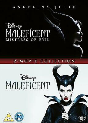 Maleficent Doublepack New DVD Box Set / Free Delivery Mistress of Evil