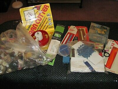 Huge Mixed Lot of Sewing Notions - Buttons - Yarn/String - Trims