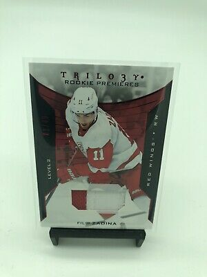 2019-20 Upper Deck Trilogy Filip Zadina Level 2 Patch /49 Red Wings RC