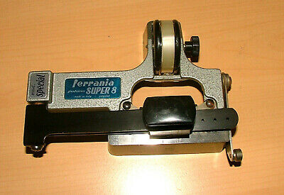 "FERRANIA  ""SPECIAL"" SUPER-8 TAPE FILM SPLICER. with instructions CIR CATOZZO #2"