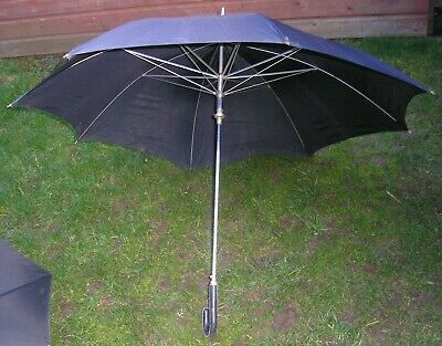 Vintage Umbrella Black St Michael Marks & Spencer's  BRITISH