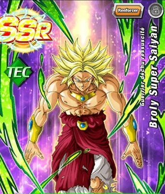 Compte dokkan Battle Global 2 LR +1540 DS