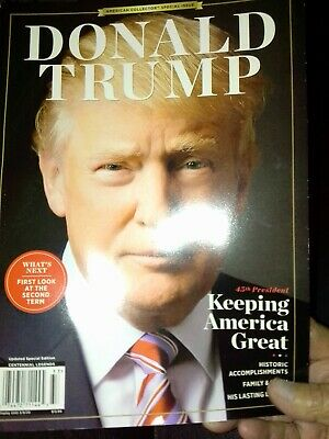 DONALD TRUMP America  Magazine   98 Pgs BRAND NEW Family & Office 2019