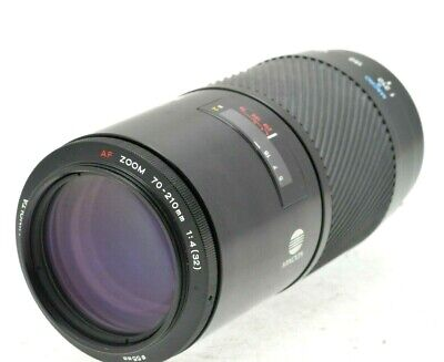 Minolta Sony A 70-210Mm F4 Af Telephoto Macro Zoom Big Beercan Lens