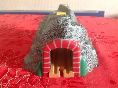 Brio Wooden Railway Mountain Tunnel With Working Sound Effects. Great Condition.
