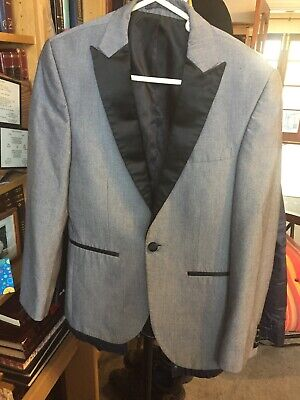 """Skinny Fit From NEXT Tailoring Men's Grey Suit Jacket 36"""""""