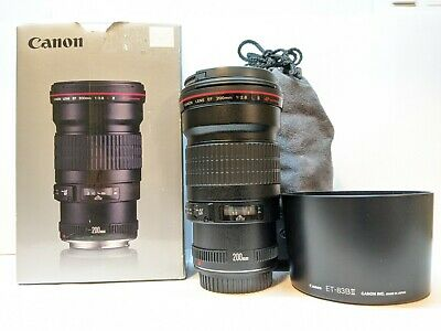 Canon EF 200mm f/2.8L II USM Prime Lens - VERY VERY CLEAN !!!