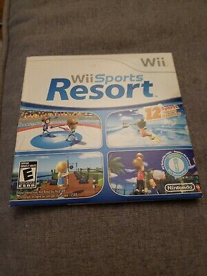 Wii Sports Resort Nintendo Wii Brand New Sealed Carboard Sleeve Rare