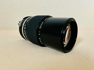 ⭐️Near Mint⭐️ Nikon Ai Nikkor 200Mm F/4 Mf Telephoto F Mount Lens From Japan