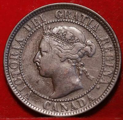 1901 Canada One Cent Foreign Coin