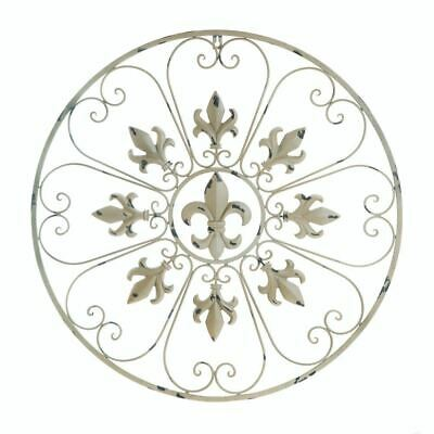 Accent Plus Circular Fleur De Lis Wall Decor - 10017973