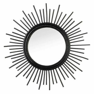 White Accent Plus 10018633 Silver Circles Mirrored Tray
