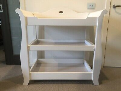 Used - Boori,  3 tier change table in white!
