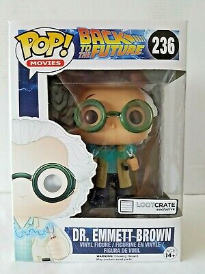 🎁 Pop Vinyl Figure Back To The Future #236 DR Emmett Brown