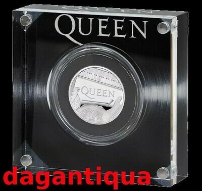 Queen Moneta 2020 Uk Band Commemorativa Silver Proof Coin Ag Royal Gb Mint 4