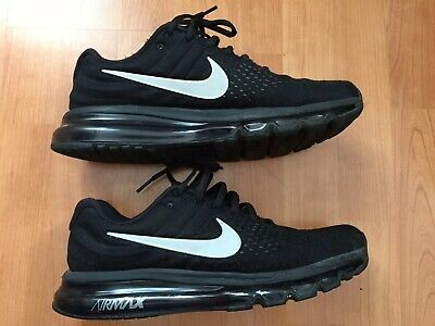 "NIKE AIR MAX 2017 ""Black Edition"" Herren SneakerRunning"