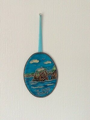 Sun Catcher, Hand Painted, Leaded Edge, The Island, Newquay
