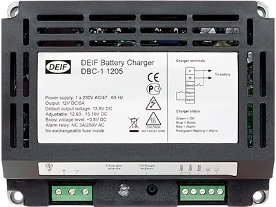 DEIF DBC-1 (2410) 24 Volt 10 Ampere Battery Charger