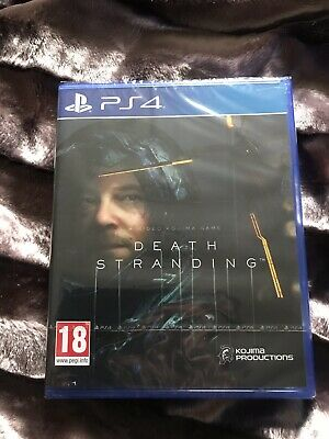 Death Stranding - PS4 New Sealed With Slip Case Free Shipping