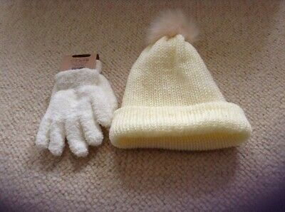 Girls 5-7 Hat And Gloves Set