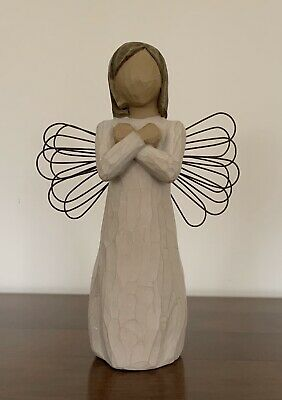 "Willow Tree ""Sign for Love"" Angel Figurine"