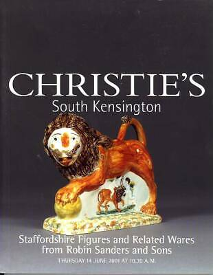 Christie's Sale Catalogue - Robin Sanders collection of Staffordshire Figures