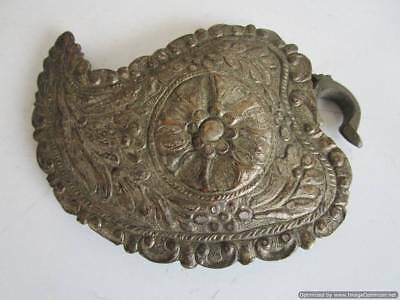 Extremely rare Turkish Ottoman silver buckle late 18th century, weight - 72.60 g