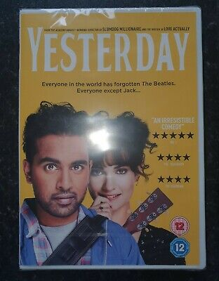 Brand new and sealed Yesterday dvd