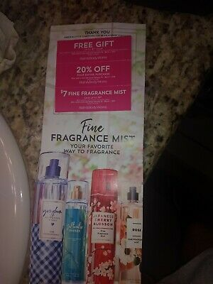 (3) Bath & Body Works Coupons Valid 2/10/2020-3/1/2020