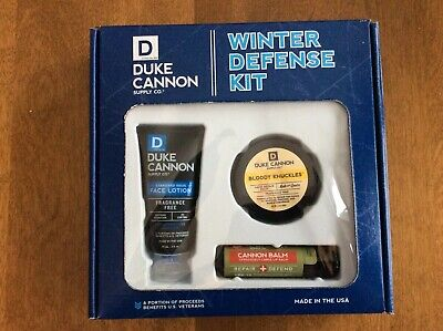 New Duke Cannon Winter Defense Kit