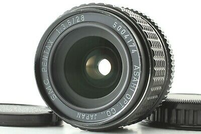 【Optical TOP MINT】 SMC PENTAX 28mm F/3.5 Wide Angle Lens For K Mount From Japan